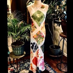 Cheap & Chic by Moschino maxi slip dress